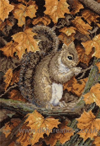 Autumn Leaves Cross Stitch Kit